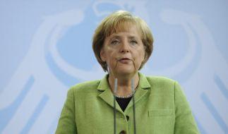 Angela Merkel hat sich am Donnerstag selbst zur Ms. Opel gemacht. (Foto)