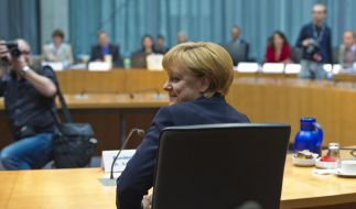 Angela Merkel gesteht zum Thema Gorleben keine Fehler ein. (Foto)