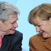 So reagieren Merkel, Gabriel und Co. auf den Gauck-Rückzieher (Foto)