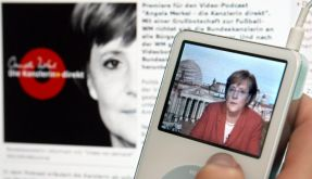 Angela Merkel im Podcast (Foto)