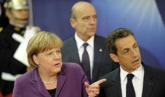Angela Merkel ist sauer auf Giorgos Papandreou (Foto)