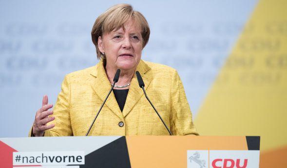 Angela Merkel bekennt sich erstmals zu einer Jamaika-Regierung. (Foto)