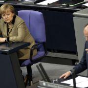 Angela Merkel oder Peer Steinbrück - wer wird neuer Bundeskanzler?