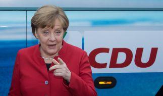 Angela Merkel startet mit Jung von Matt in den Wahlkampf. (Foto)