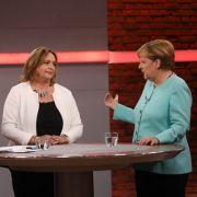 Angela Merkel stellte sich bei RTL den Fragen der Bürger. (Foto)