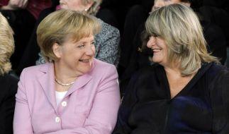 Angela Merkel und Alice Schwarzer (Foto)