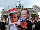 Angela Merkel und Francois Hollande (Foto)