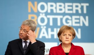 Angela Merkels Angst vor Norbert Röttgen (Foto)
