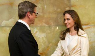 Angelina Jolie im Auswärtigen Amt (Foto)