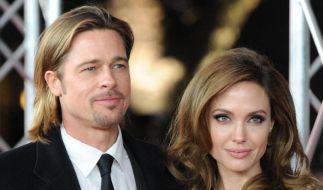 Angelina Jolie und Brad Pitt haben klammheimlich geheiratet. (Foto)
