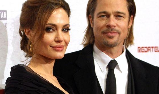 Angelina Jolie und Brad Pitt (Foto)