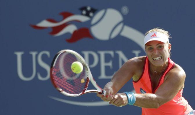Angelique Kerber steht im Halbfinale der US Open (Foto)
