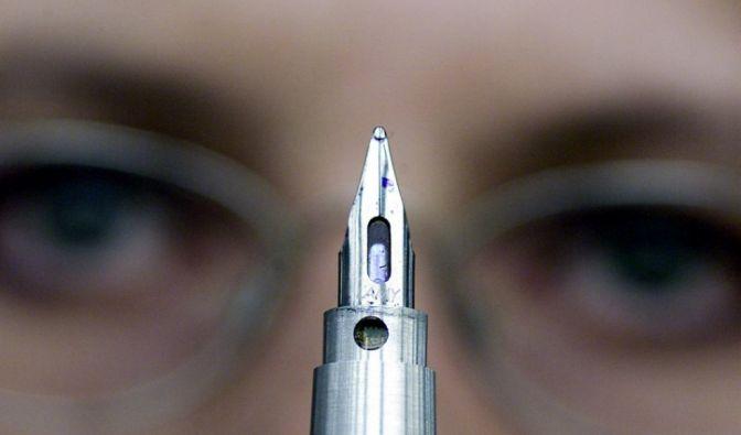 Angst vor dem Schreiben (Foto)