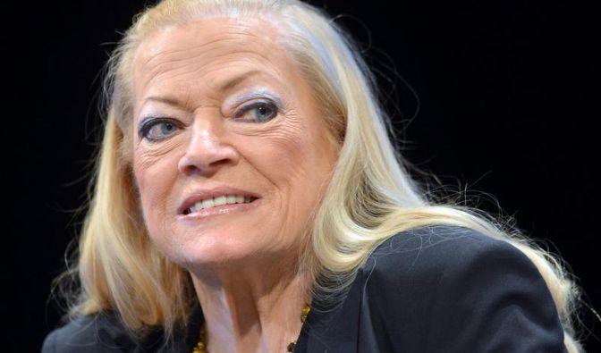 """11.01. - Anita Ekberg (83): Ihr nächtliches Bad in Roms Trevi-Brunnen in Federico Fellinis """"La dolce vita"""" (1960) schrieb Kinogeschichte. Mit späteren Filmen konnte die Schwedin daran nicht anknüpfen. (Foto)"""