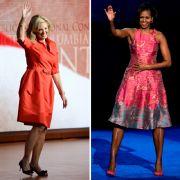Ann Romney (links) und Michelle Obama unterstützen ihre Männer im Wahlkampf tatkräftig. Sie verleihen der Politik eine menschliche Note.