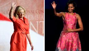 Ann Romney (links) und Michelle Obama unterstützen ihre Männer im Wahlkampf tatkräftig. Sie verleihen der Politik eine menschliche Note. (Foto)