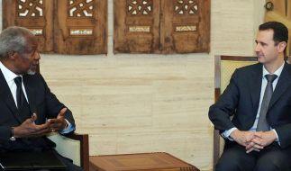 Annan: Assads Regime muss zuerst das Feuer einstellen (Foto)