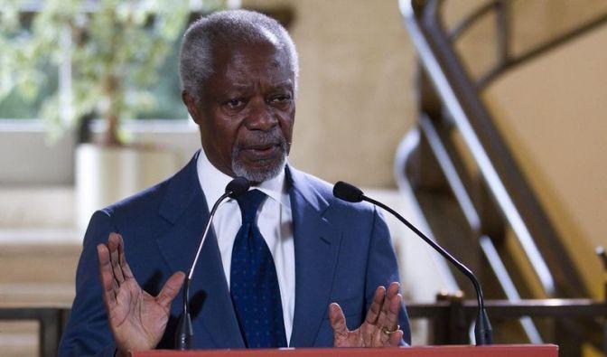 Annan fürchtet Eskalation in Syrien bis zum Bürgerkrieg (Foto)