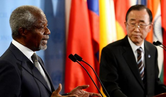 Annan warnt vor Regionalkrieg: «Syrien würde explodieren» (Foto)