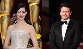 Anne Hathaway und James Franco moderieren «Oscars» (Foto)