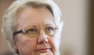 Annette Schavan bleibt bei ihrer Unschuldsbehauptung. (Foto)