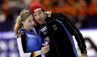 Anni Friesinger und Gianni Romme (Foto)