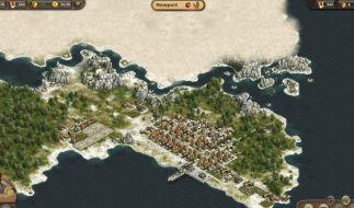 Anno Online ist pausentauglich. Wer allerdings ein Inselimperium aufbauen will, braucht viel Zeit - oder Geld. (Foto)