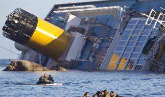 Ansa: Frauenleiche auf «Costa Concordia» gefunden (Foto)