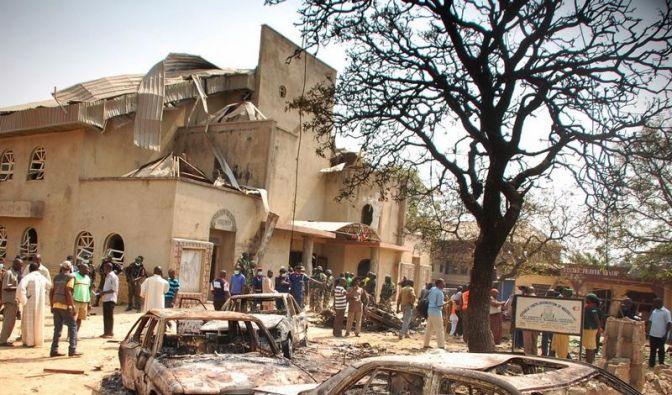 Anschläge auf Kirchen in Nigeria weltweit verurteilt (Foto)