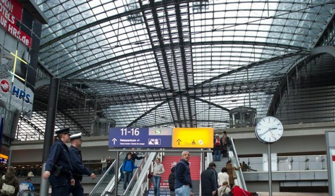 Anschlag am Berliner Hauptbahnhof verhindert (Foto)