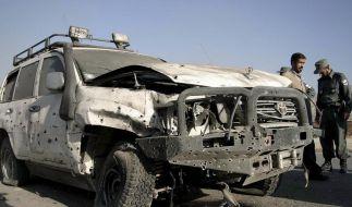 Anschlag auf deutschen Militärattaché in Kabul (Foto)