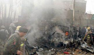 Anschlag vor deutscher Botschaft in Kabul (Foto)