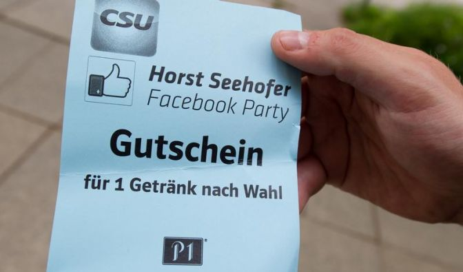 Ansturm bei Seehofers Facebook-Party bleibt aus (Foto)