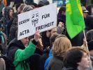 Anti-ACTA: Sorge ums Internet mobilisiert Massen (Foto)