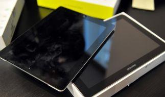 Apple geht auch gegen Samsung-Mobiltelefone vor (Foto)