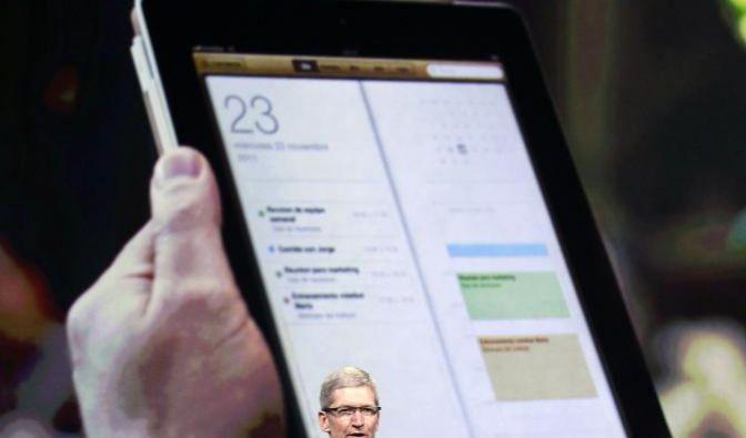 Apple hat am Mittwoch die dritte Generation seines iPad-Tablets vorgestellt. Das Gerät bekommt unter (Foto)