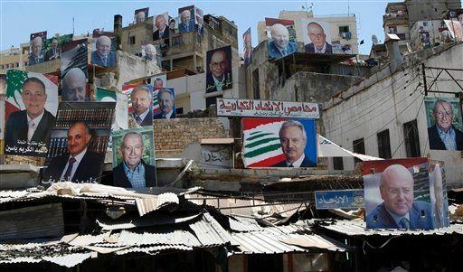 APTOPIX Mideast Lebanon Elections (Foto)