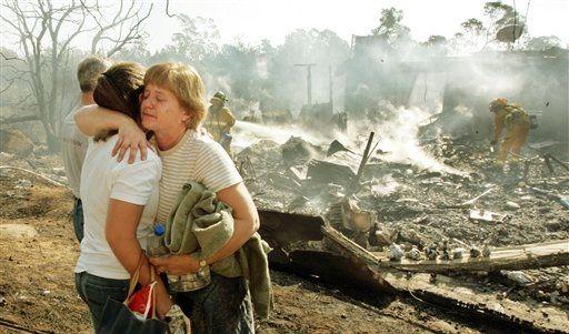 APTOPIX Wildfires (Foto)