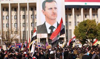 Arabische Beobachter in Syrien «optimistisch» (Foto)