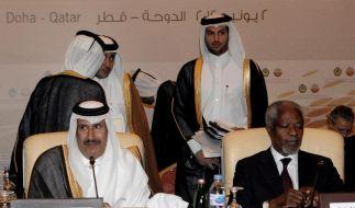 Arabische Staaten: Annan-Mission kann nicht ewig dauern (Foto)