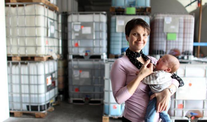 Arbeitende Mütter (Foto)