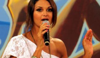 Arbeitet in Paraguay als Moderatorin und Model: Leryn Franco. (Foto)