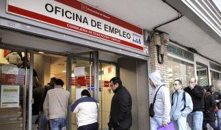 Arbeitslosen-Rekord in Euroländern im April (Foto)