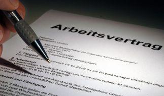 Arbeitsvertrag kündigen (Foto)