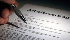 Arbeitsvertrag (Foto)