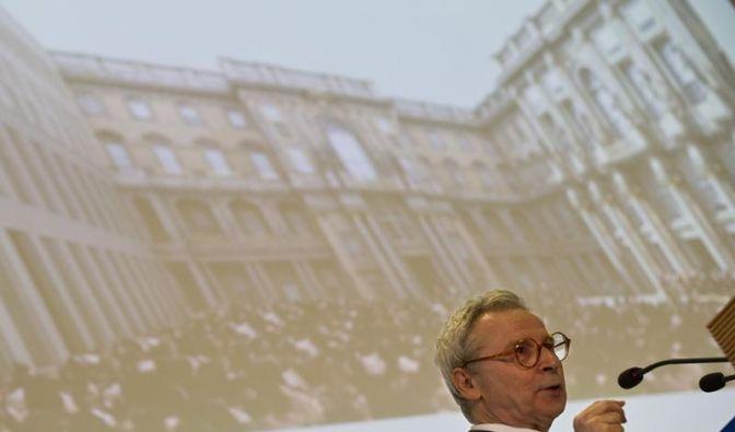Architekt stellt Pläne für Berliner Schloss vor (Foto)