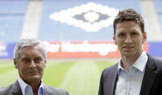 Armin Veh und Bastian Reinhardt (Foto)