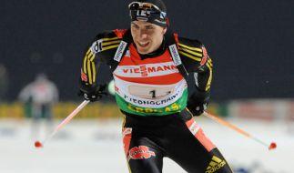 Arnd Peiffer hat erstmals seit zwei Jahren wieder ein Biathlon-Weltcuprennen gewonnen. (Foto)