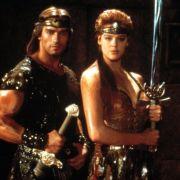 Arnold Schwarzenegger und Brigitte Nielsen spielten gemeinsam im Streifen Red Sonja.