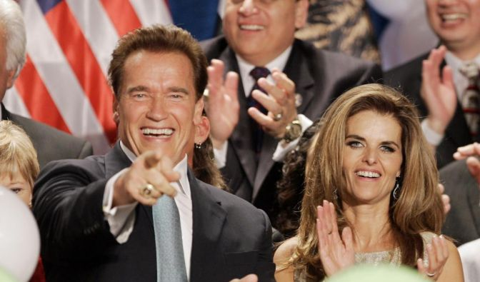 Arnold Schwarzenegger, Maria Shriver (Foto)